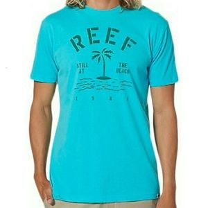 Reef - Tahiti Blue Reef Route Tee T-Shirt - NWT